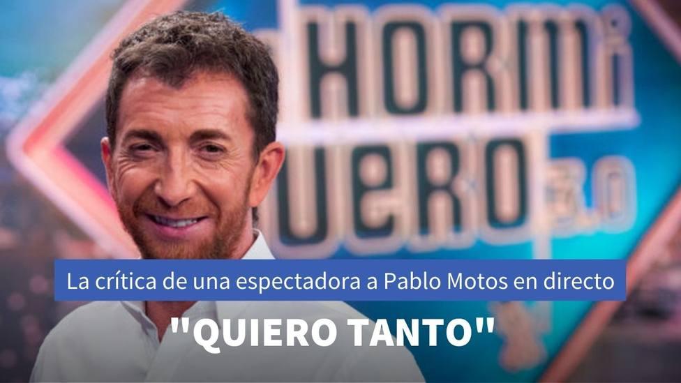 El insulto que ha recibido Pablo Motos en El Hormiguero por parte de una espectadora