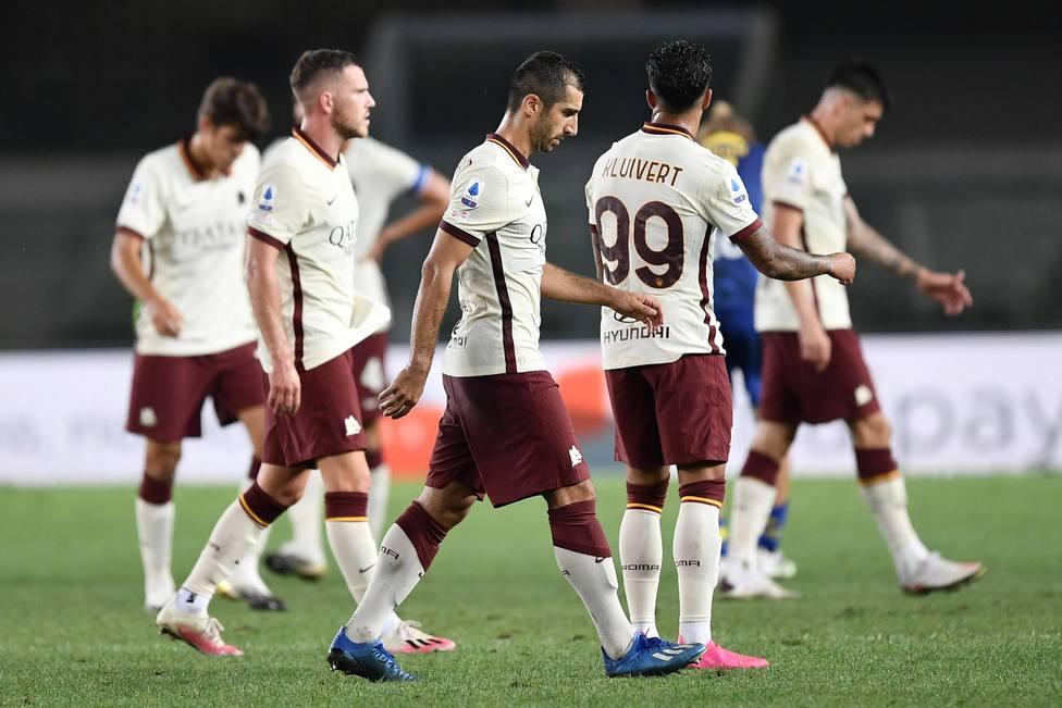 La Roma pierde su partido ante el Verona por alineación ...