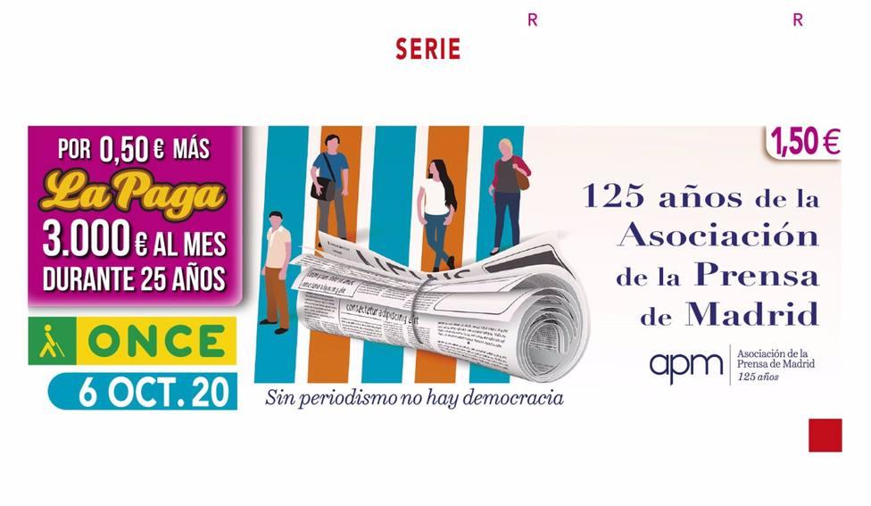 La ONCE reparte 350.000 euros entre diez vecinos del Polígono Guadalquivir