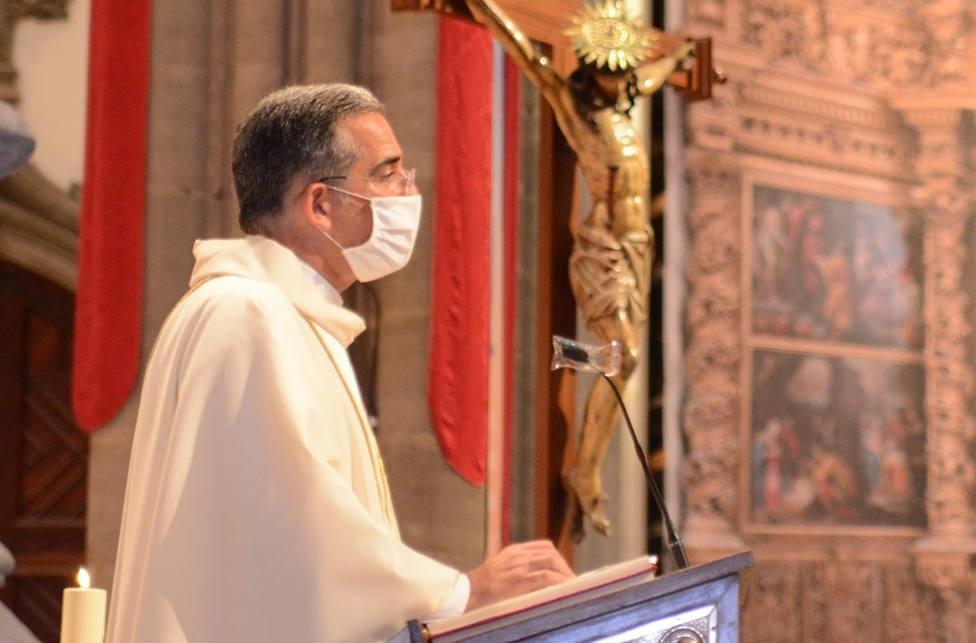 Víctor Álvarez, vicario general de la Diócesis de Tenerife