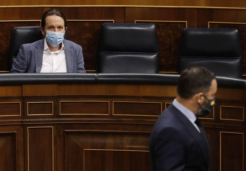Iglesias infunde a una veintena de embajadores el miedo a Vox: Es una amenaza para Europa