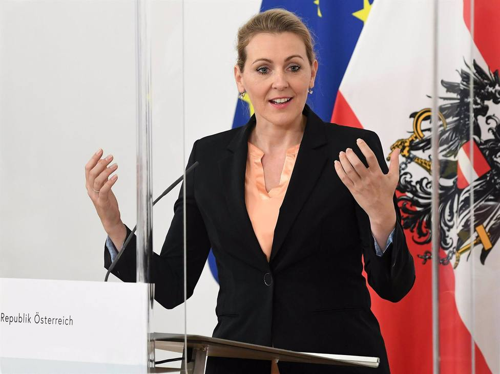 Christine Aschbacher ha admitido que ha copiado su tesis doctoral