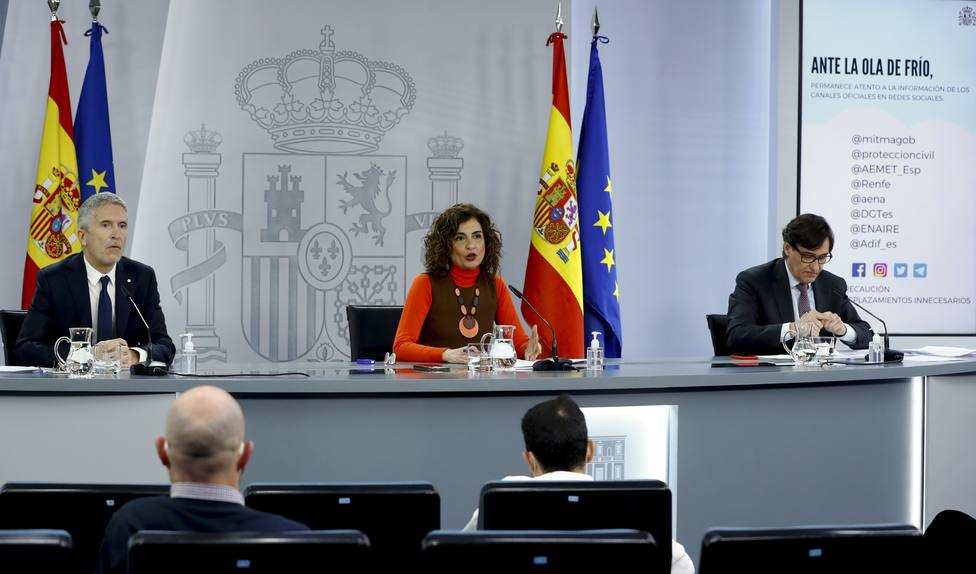 Marlaska cree que es pronto para evaluar a Madrid como zona catastrófica: Aún no se pueden valorar los daños
