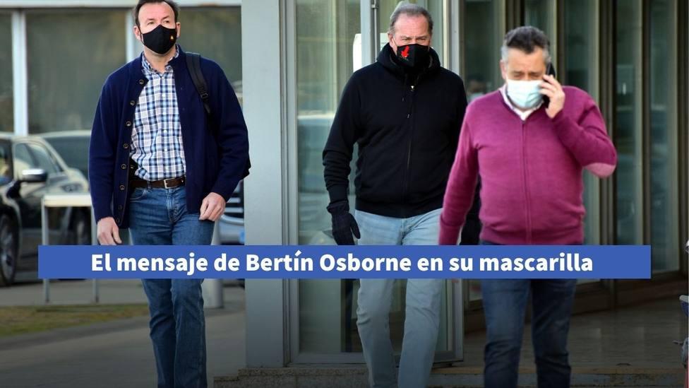 La mascarilla de Bertín Osborne