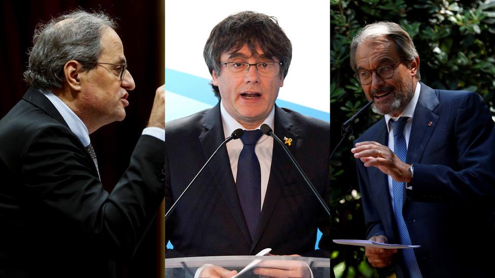 La defenestración de los president en los últimos once años: desde Artur Mas hasta Quim Torra