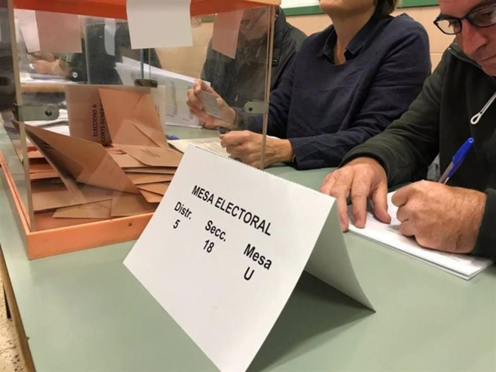El 25% de citados a mesas electorales han recurrido hasta este jueves