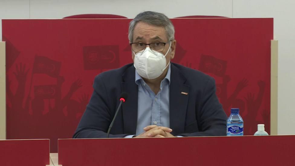 Arturo León, secretario general de CCOO-PV