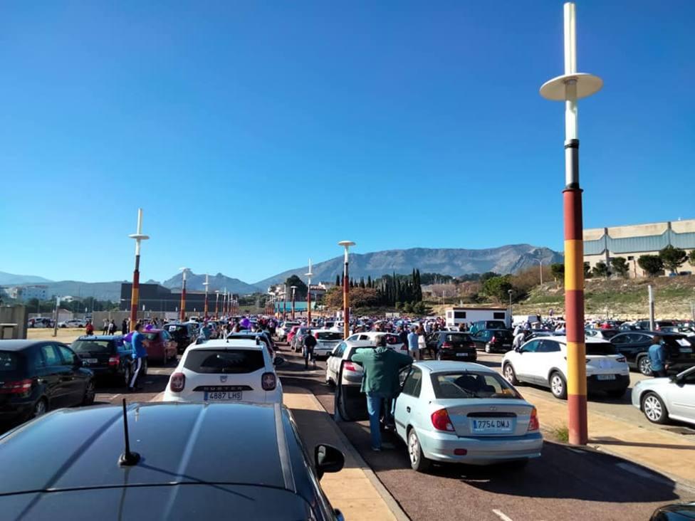 La manifestación de este domingo en Jaén