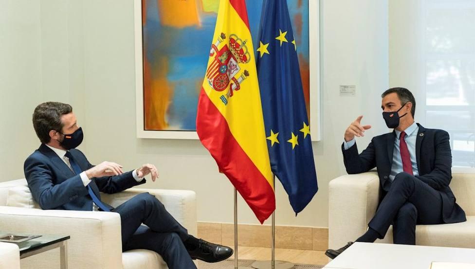 Pablo Casado y Pedro Sánchez