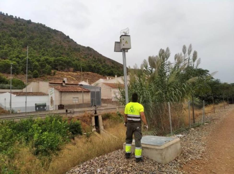 La tecnología Smart City llega a la Vía Verde para garantizar el uso eficiente del agua en el riego