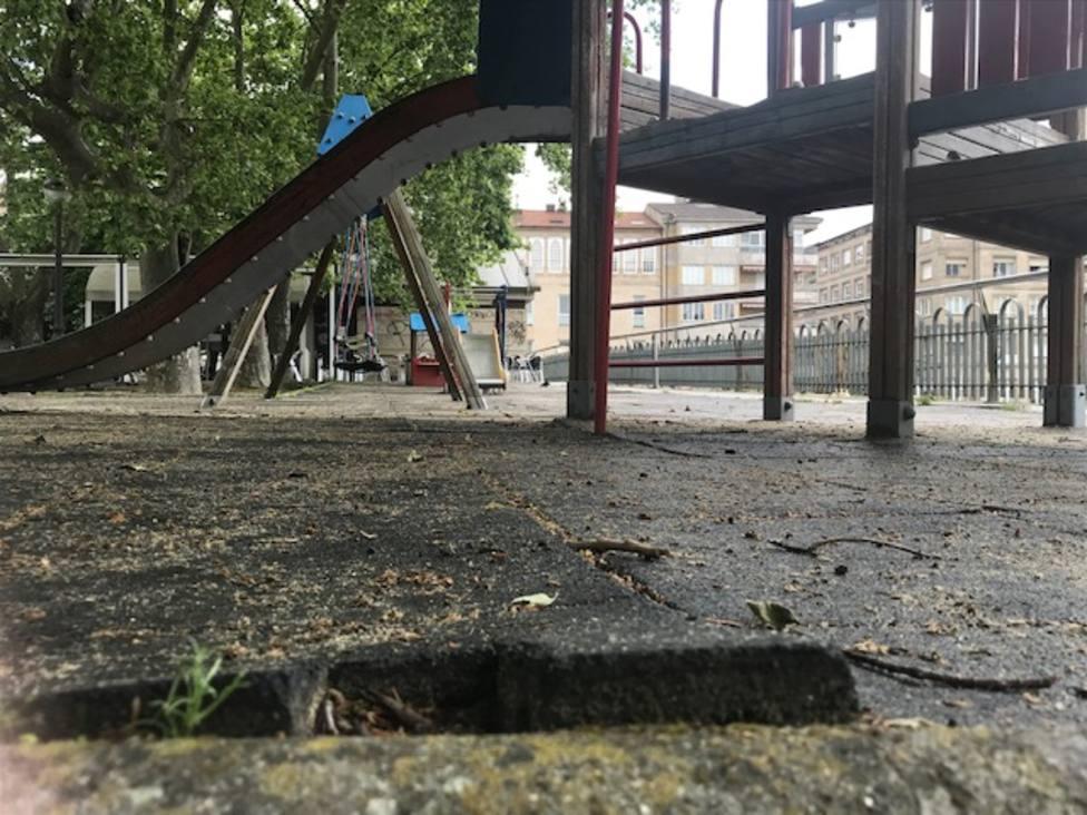 Zona infantil de la Alameda 2