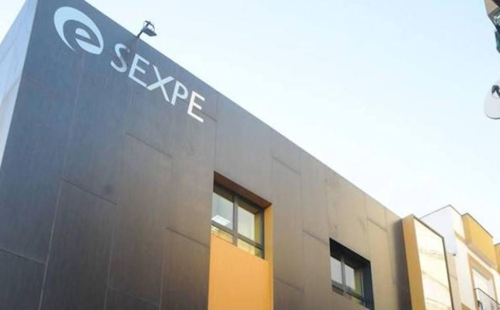 Sede del Servicio Extremeño Público de Empleo SEXPE en Mérida (Archivo)
