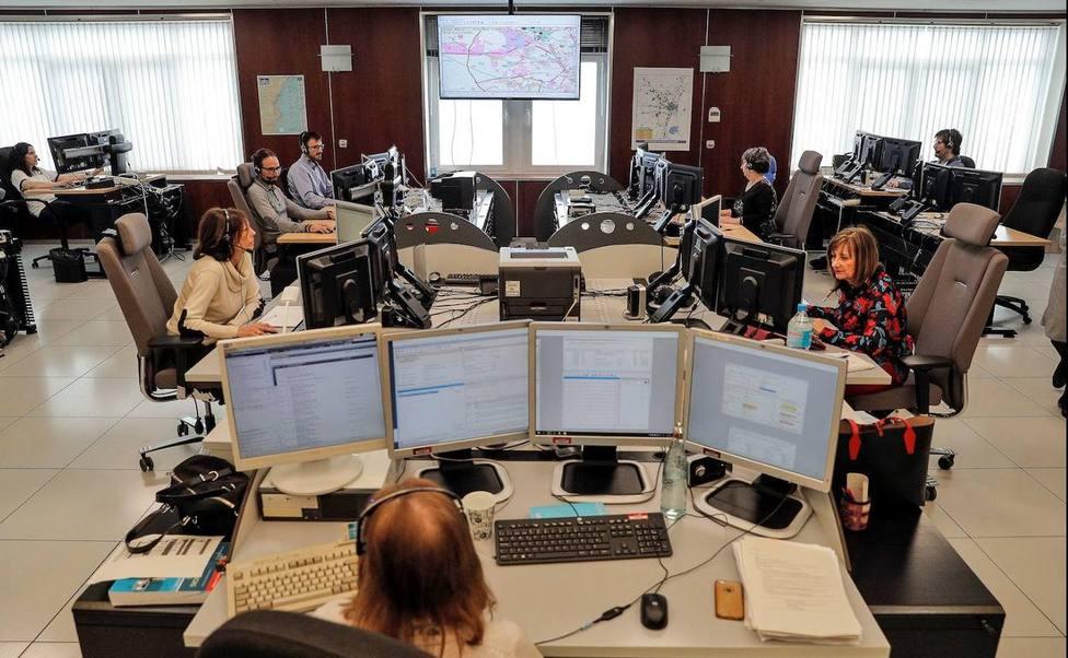 El CICU gestiona las llamadas de urgencia al teléfono 112