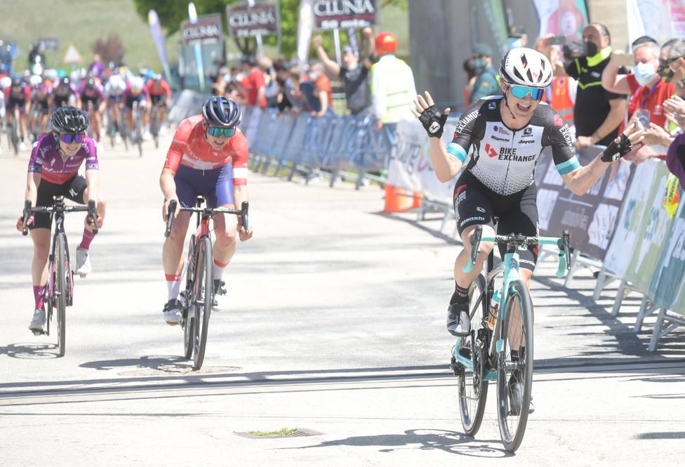Primera etapa de la Vuelta a Burgos Femenina