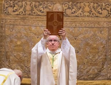 Toma de posesión del nuevo Arzobispo de Sevilla