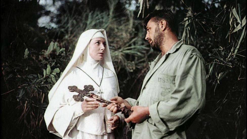 """Este miércoles, no te pierdas en TRECE a Deborah Kerr y Robert Mitchum en """"Solo Dios lo sabe"""""""