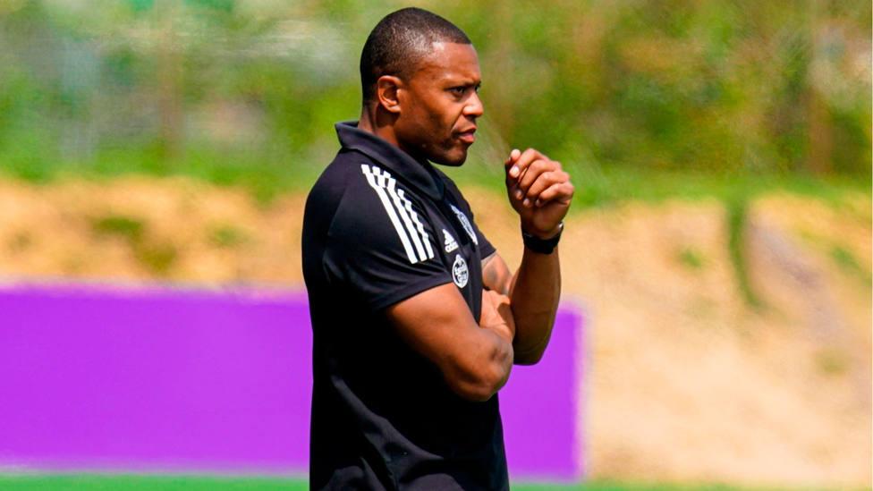 Julio Baptista, entrenador del Real Valladolid (FOTO: Real Valladolid)