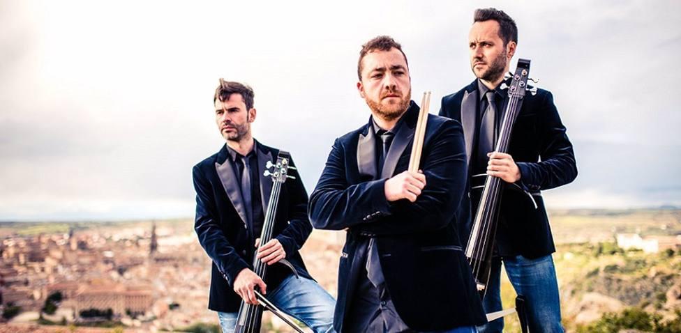 Manchelos actúan este viernes en Valdepeñas haciendo sonar temas Extremoduro o Dover con la acústica de un violín
