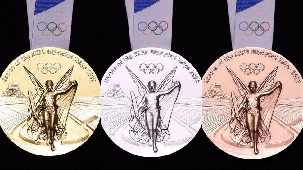 JJ.OO.- Tokyo 2020 presenta el diseño de sus medallas para los Juegos Olímpicos y Paralímpicos