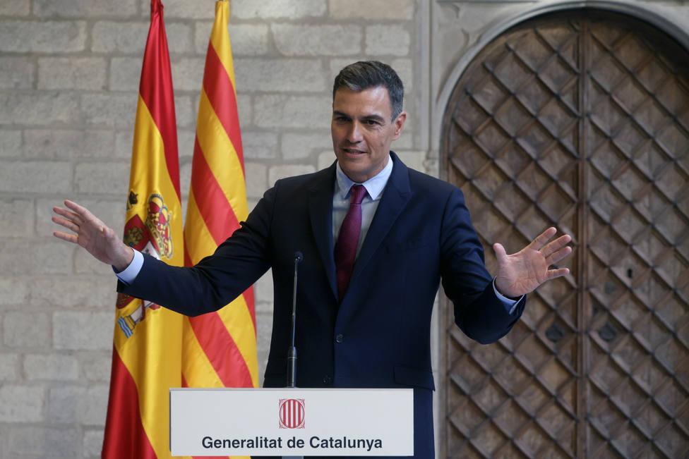 Sánchez defiende la utilidad de la mesa de diálogo aunque cree que las posiciones están muy alejadas
