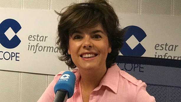 Soraya Sáenz de Santamaría en COPE