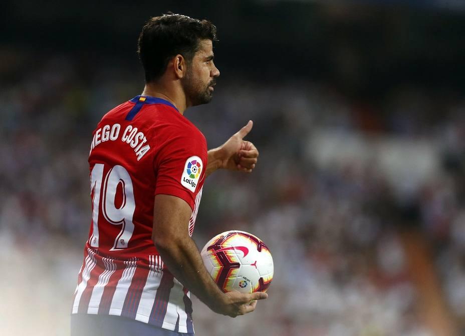 Fútbol/Liga Campeones.- Diego Costa y Savic viaja a Dortmund y Giménez se queda fuera