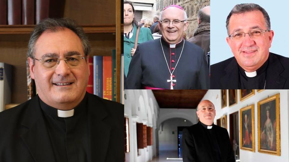 ¿Sabrías reconocer a los nuevos obispos que se han nombrado?