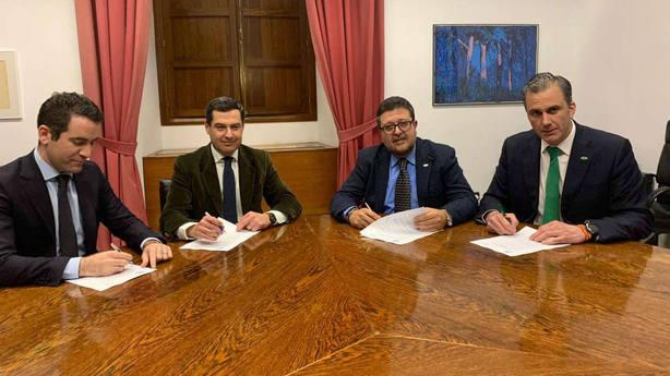 Vox facilitará el cambio en Andalucía y apoyará la investidura de Juanma Moreno