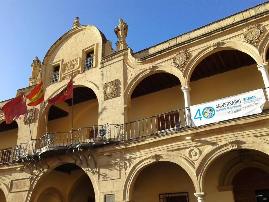El Ayuntamiento de Lorca se suma al 40 Aniversario del trasvase Tajo-Segura