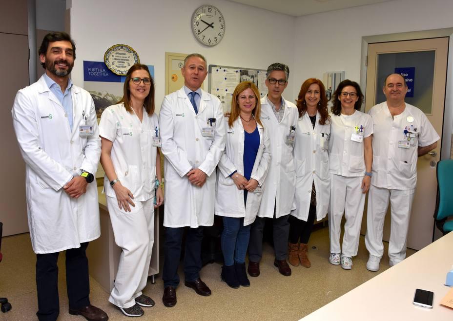 El Hospital de día médico incrementó los tratamientos un 20% el último año