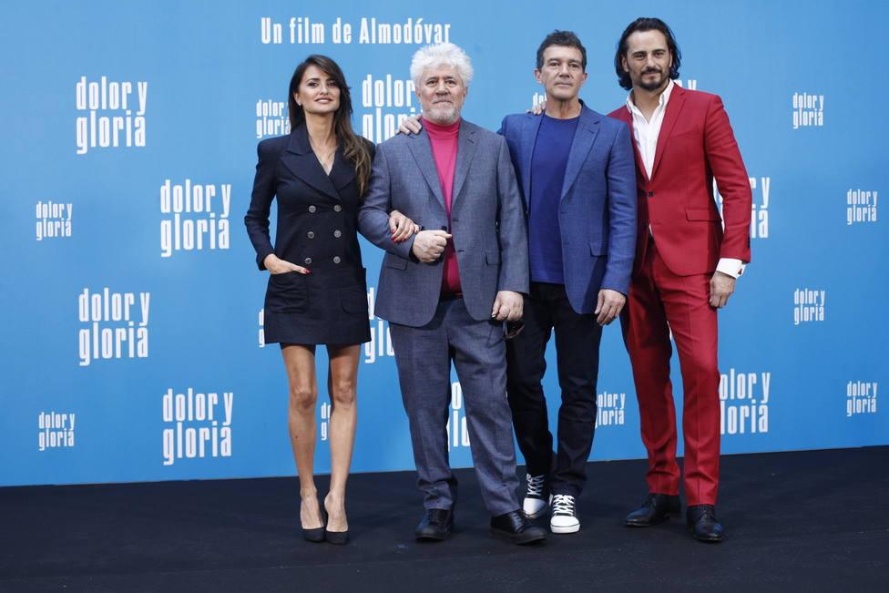 Almodóvar presenta Dolor y gloria: Soy de naturaleza pudorosa pero esta película habla mucho de mí