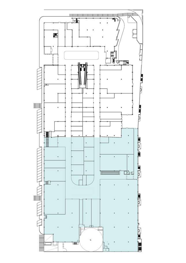 Plano ampliación Centro Comercial Ruta de la Plata