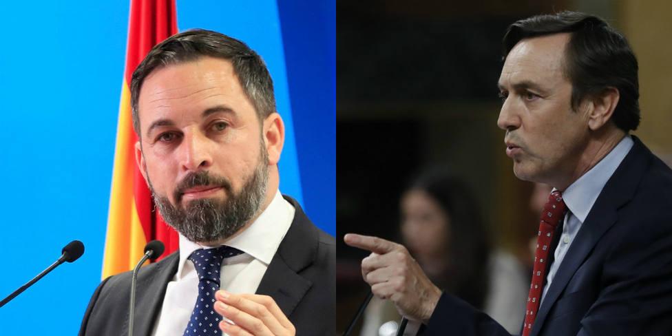 Rafa Hernando carga contra Santi Abascal y su derechita cobarde: Tú saliste corriendo del País Vasco