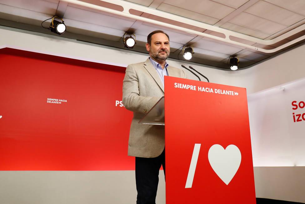 Ábalos (PSOE) rechaza que Josu Ternera sea un héroe de la retirada de ETA, como defendió Eguiguren