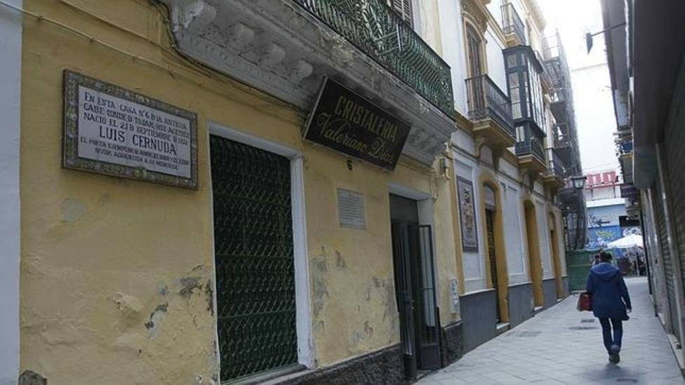 Casa donde nació Luis Cernuda