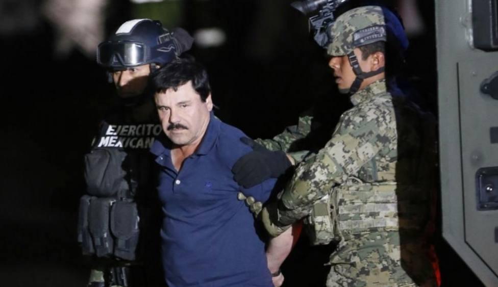 Publicado el vídeo en el que se muestra a El chapo Guzmán antes de dirigirse a la prisión de Alcatraz