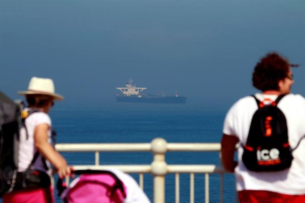 Gibraltar libera al petrolero iraní tras recibir garantías de que el crudo no irá a Siria