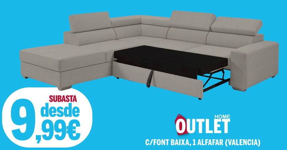 Un sofá pormenos de 10€
