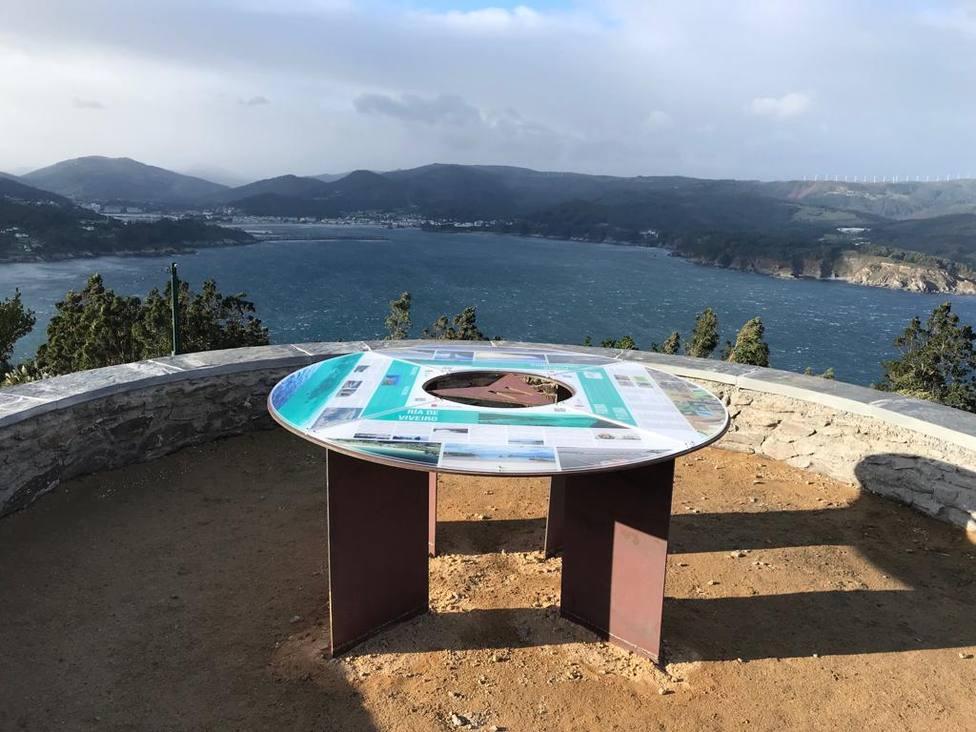 Mirador de Monte Faro en Viveiro