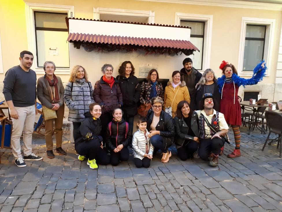 Ya está abierta la caseta solidaria de na Gracia y Sebastià