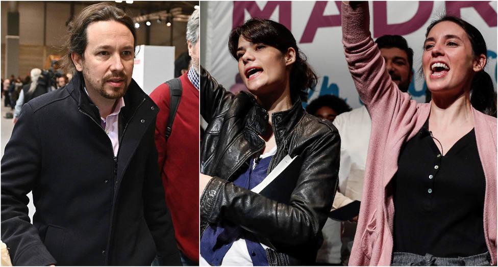 """Las redes retratan a Iglesias y Montero por salir en defensa de Isa Serra apelando al """"derecho a la vivienda"""""""