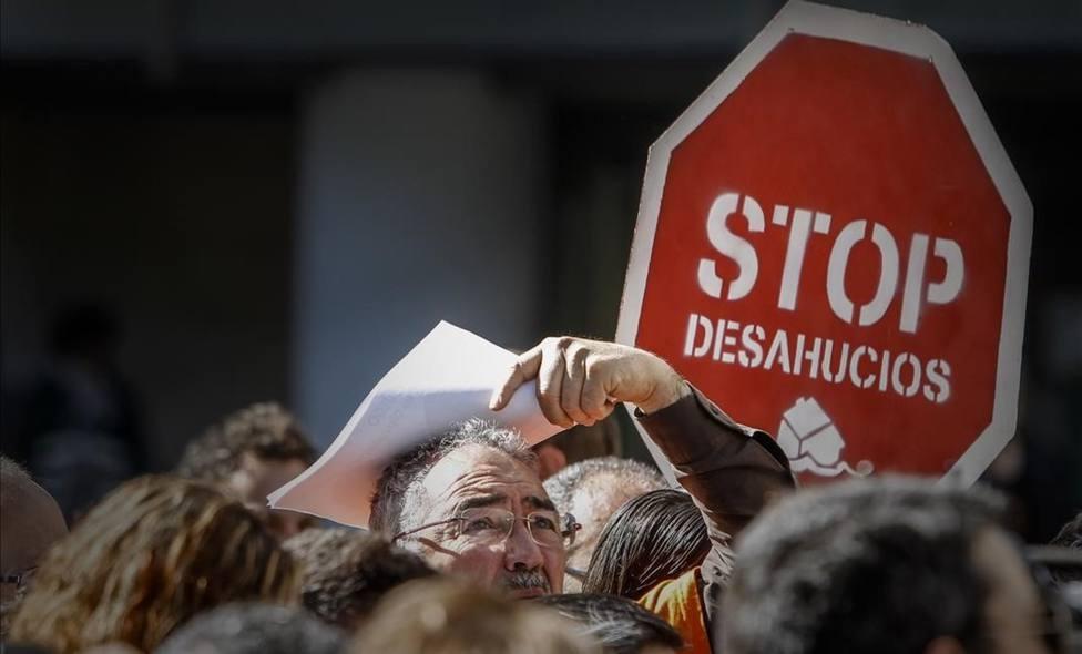 Desahuciado en Palma un jubilado de 78 años pese a no deber ni un solo mes del alquiler