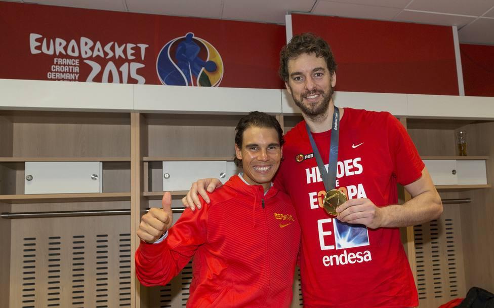 Varios.- Rafa Nadal y Pau Gasol se unen a Cruz Roja para intentar recaudar 11 millones entre deportistas españoles