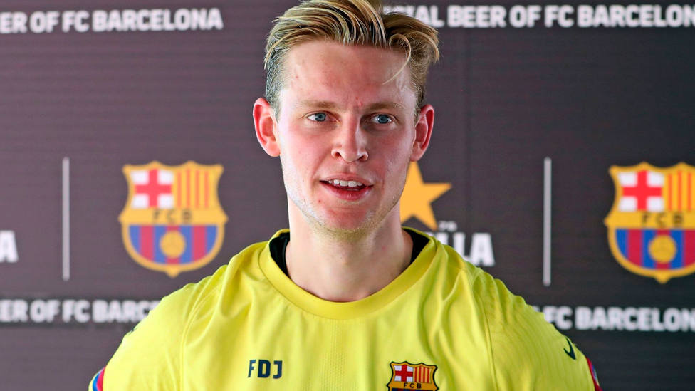 Frenkie De Jong, centrocampista del Barça (FOTO: FC Barcelona)