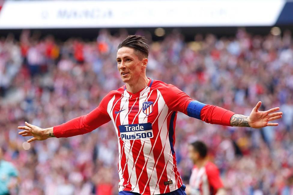 Despedida de Fernando Torres del Atletico de Madrid