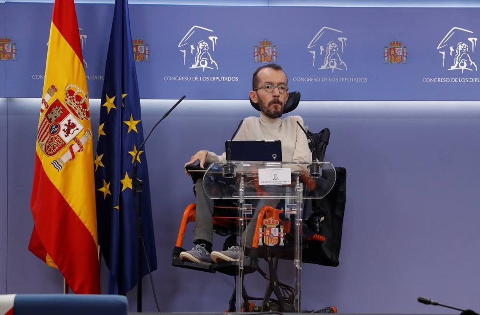 Los portavoces de Unidas Podemos ven imposible la imputación