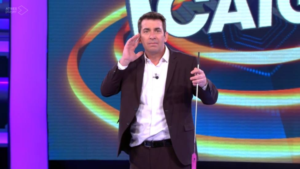 Arturo Valls en ¡Ahora Caigo! (Antena 3)