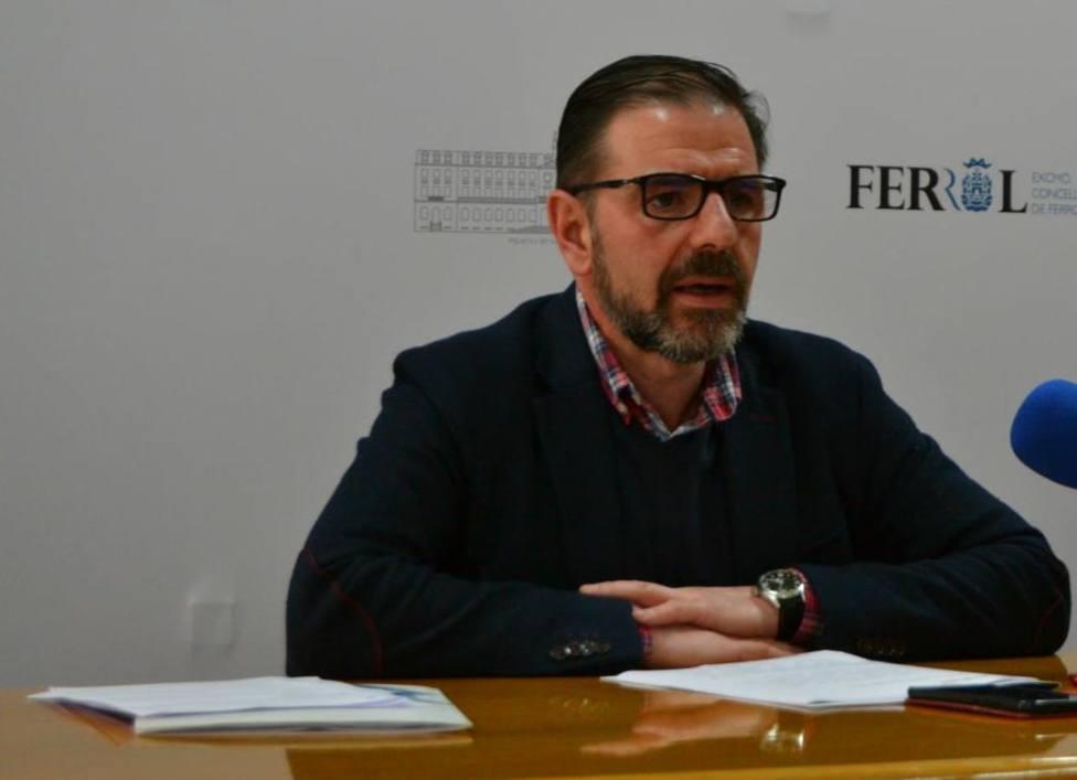 Foto de archivo de Ángel Mato, alcalde de Ferrol - FOTO: Concello de Ferrol