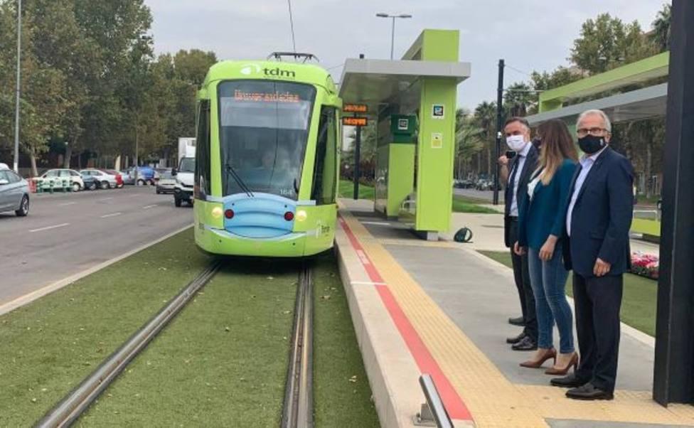 Tranvía de Murcia y Moovit se alían para fomentar el uso del transporte público multimodal