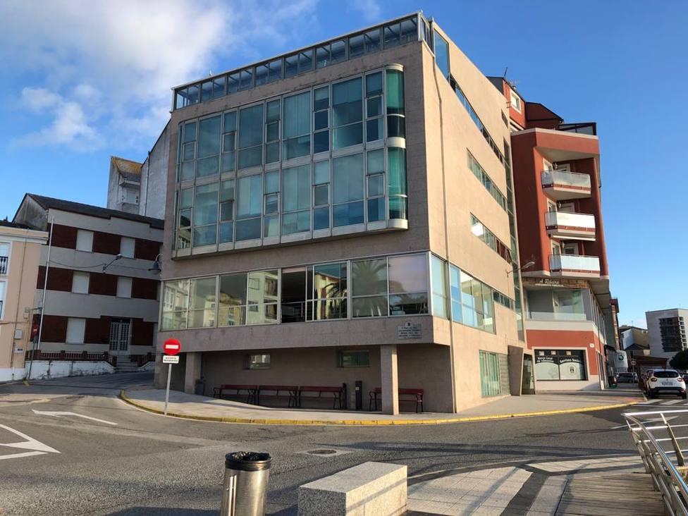 Edificio del Centro Social de Foz